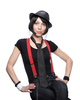 Glitter Suspenders for Women