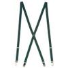1/2 Inch Wide Skinny Suspenders - HUNTER