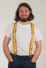 Tape Measure Suspenders - Construction Clip