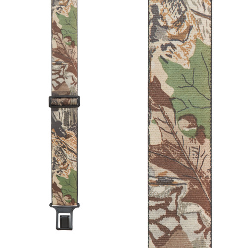 Advantage Timber Camo Suspenders - Belt Clip