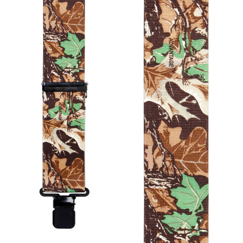 Advantage Camo Suspenders - 2 Inch Wide