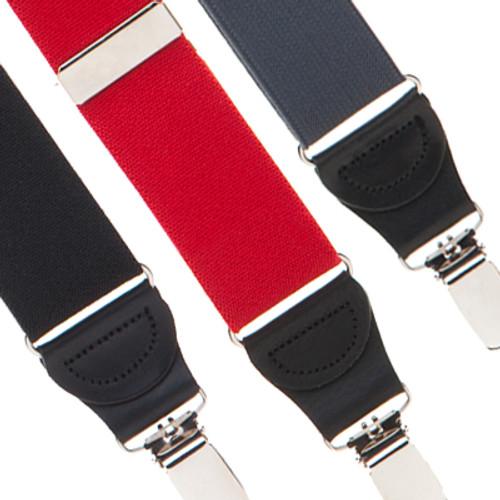 1.25 Inch Elastic Drop Clip Suspenders (Y-Back)