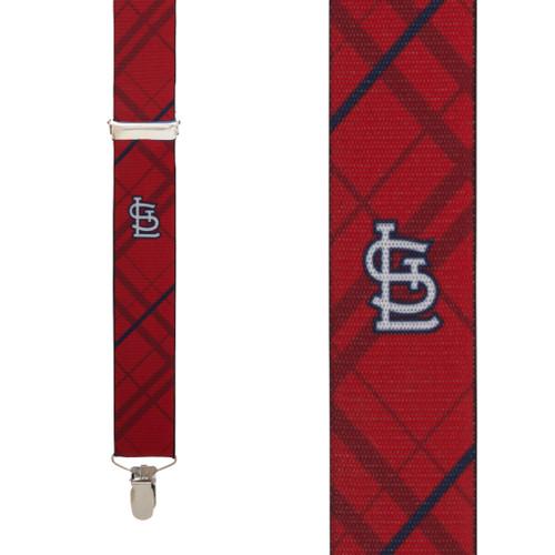 St. Louis CARDINALS MLB Team Suspenders