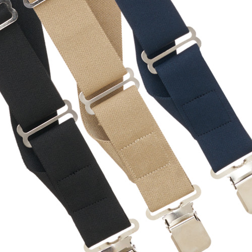 Side Clip Suspenders - 1.5 Inch Wide
