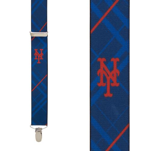 New York METS MLB Team Suspenders