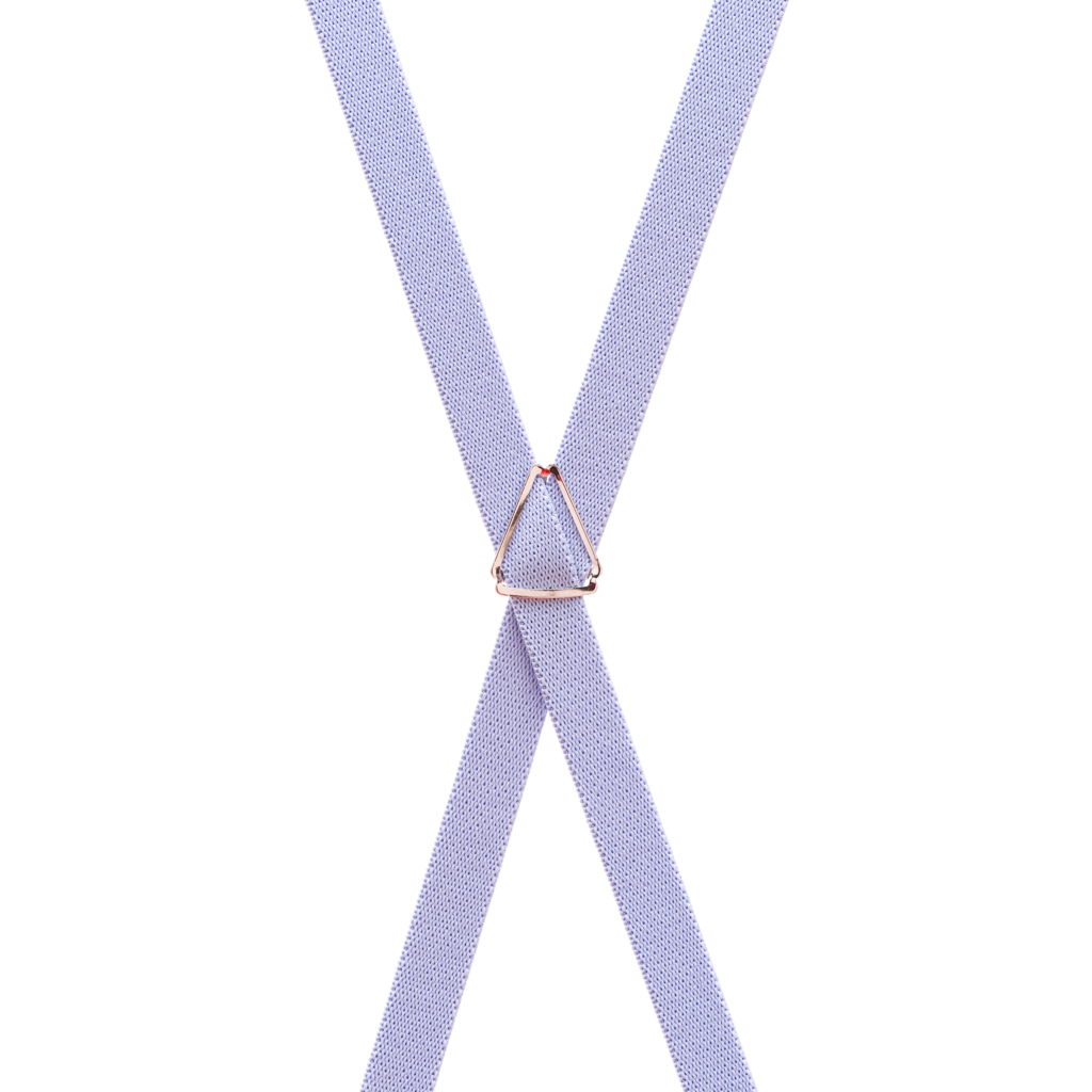 3/4 Inch Wide Thin Suspenders - Matte Finish