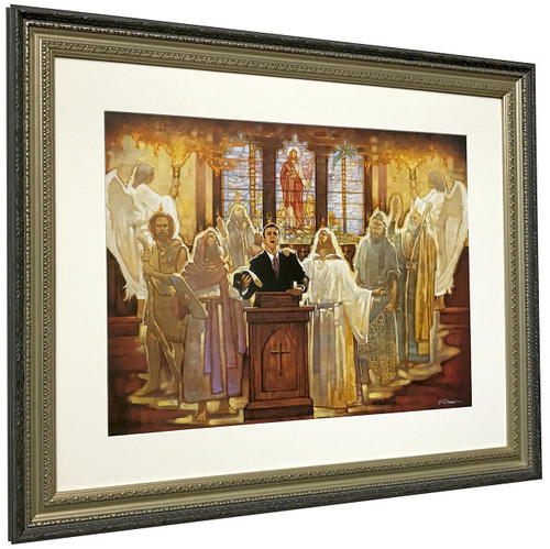 Ron DiCianni 'The Legacy' Pastor Matted & Framed Art Print O/E