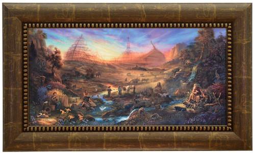 Tom duBois 'The Commission' Noah's Ark Canvas Framed L/E Signed & Numbered