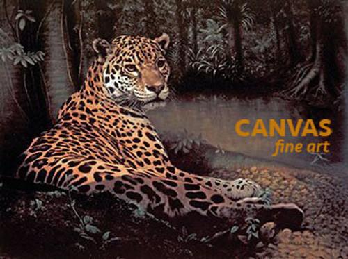 Charles Frace 'Jaguar' 9x12 Art Print O/E