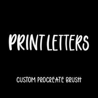 Print Letters