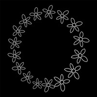 Simple Flower Wreaths