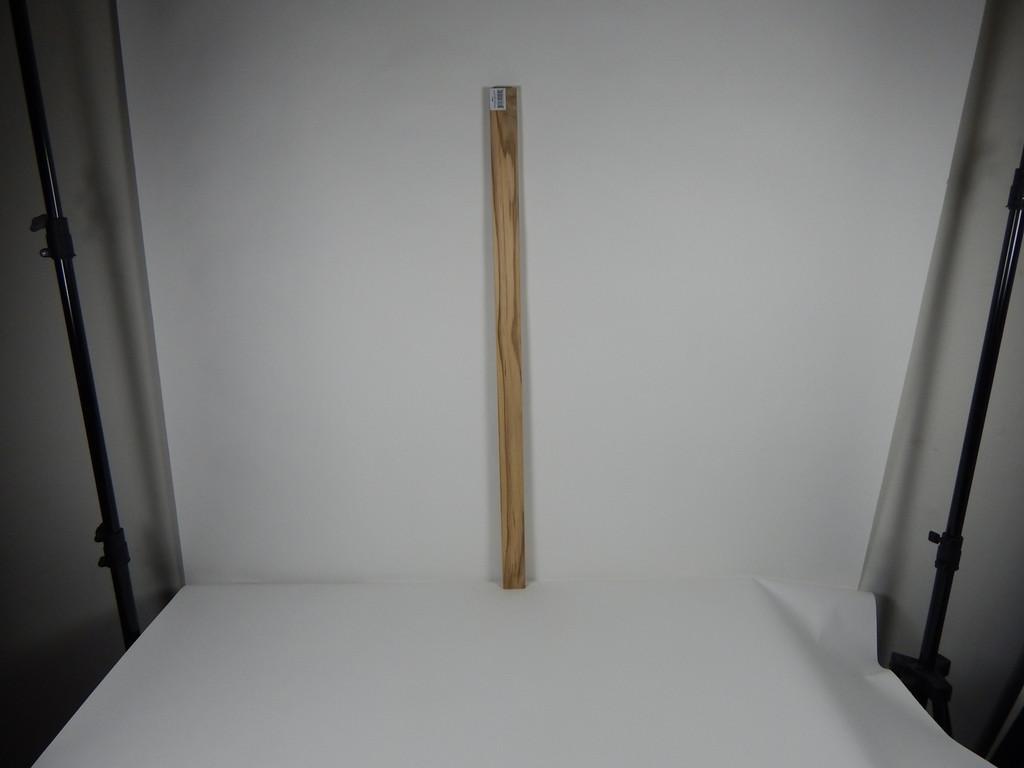 "Solid Teak Lumber Plank-1/2 x 1-3/4 x 36"" (3 feet)"