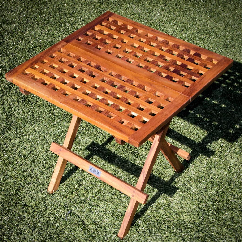 SeaTeak Square Deck Tables