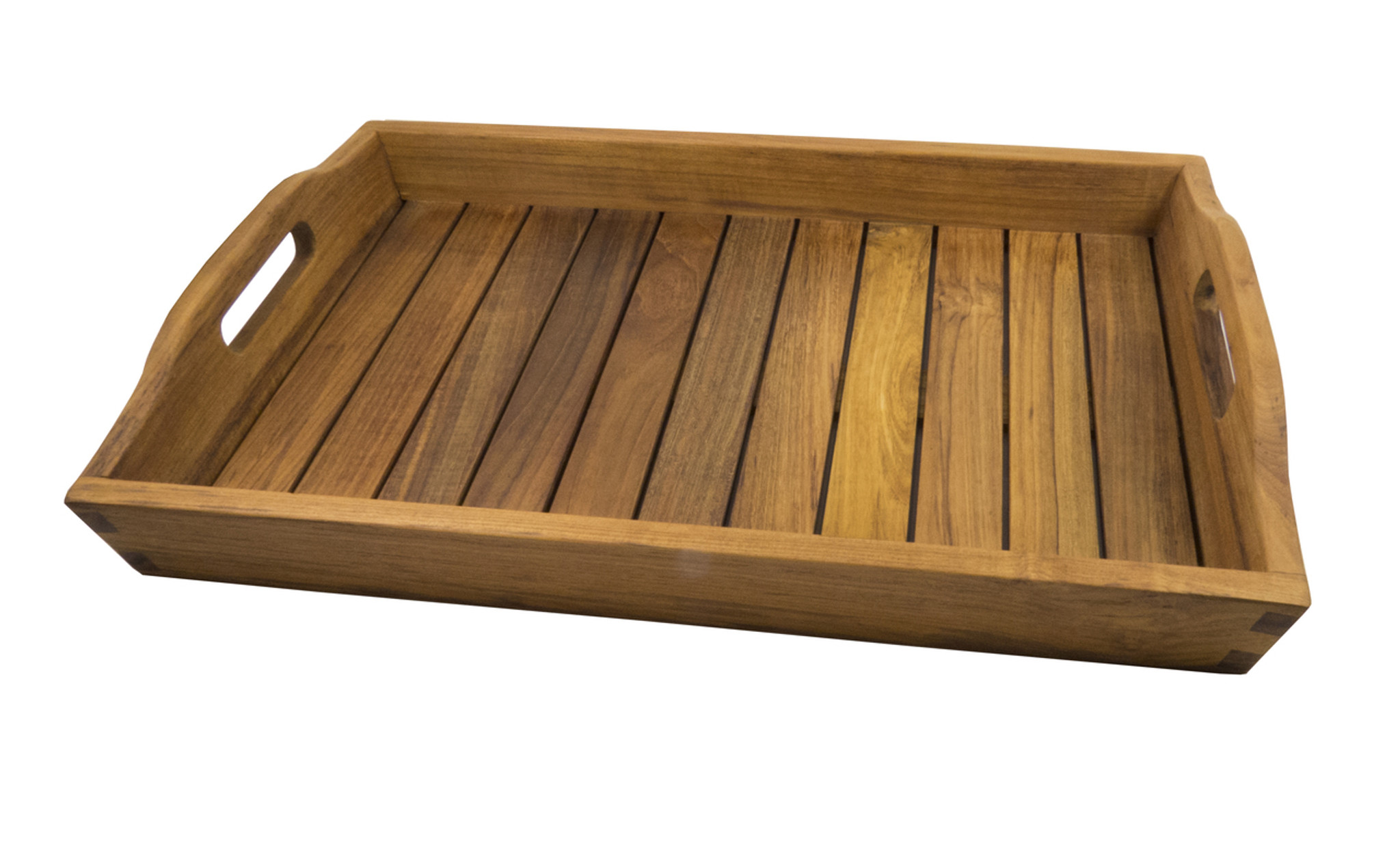 Buy SeaTeak Shower & Spa Tray-Oiled Finish | Water Brands