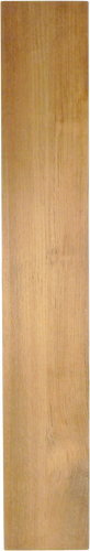 "Solid Teak Lumber Plank-3/8 x 5-3/4 x 36"" (3 feet)"