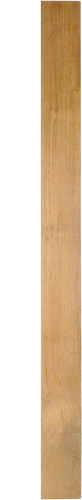 "Solid Teak Lumber Plank-3/8 x 5-3/4 x 60"" (5 feet)"