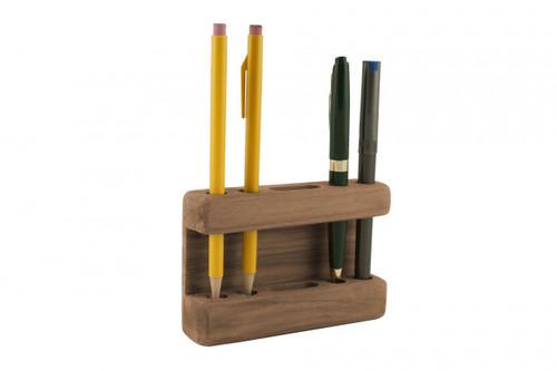 Teak Pencil Holder