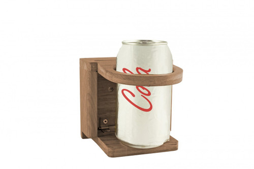 Teak Folding Insulated Drink Holder