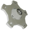 Empi 10-1034 Billet Aluminum Front Wheel Hub With Vw 5 Lug, Combo-King Pin