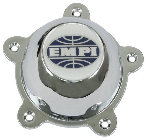Empi 9709 Replacement Chrome Center Cap With SS Hardware For 5-RIB/GT-5 Wheel