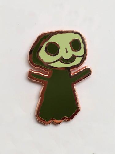 Lil Bones Enamel Pin