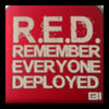 Hat clip Brim-it Remember Everyone Deployed