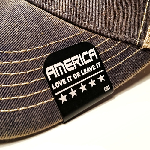 America Love it or Leave it Brim-it is a great addition to any hat