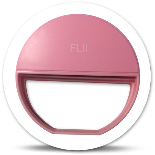 Pink FLII Selfie Ring Light ( Rechargeable)