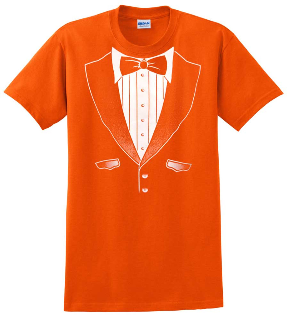 Original Orange Tuxedo T-Shirt - Heavy Cotton