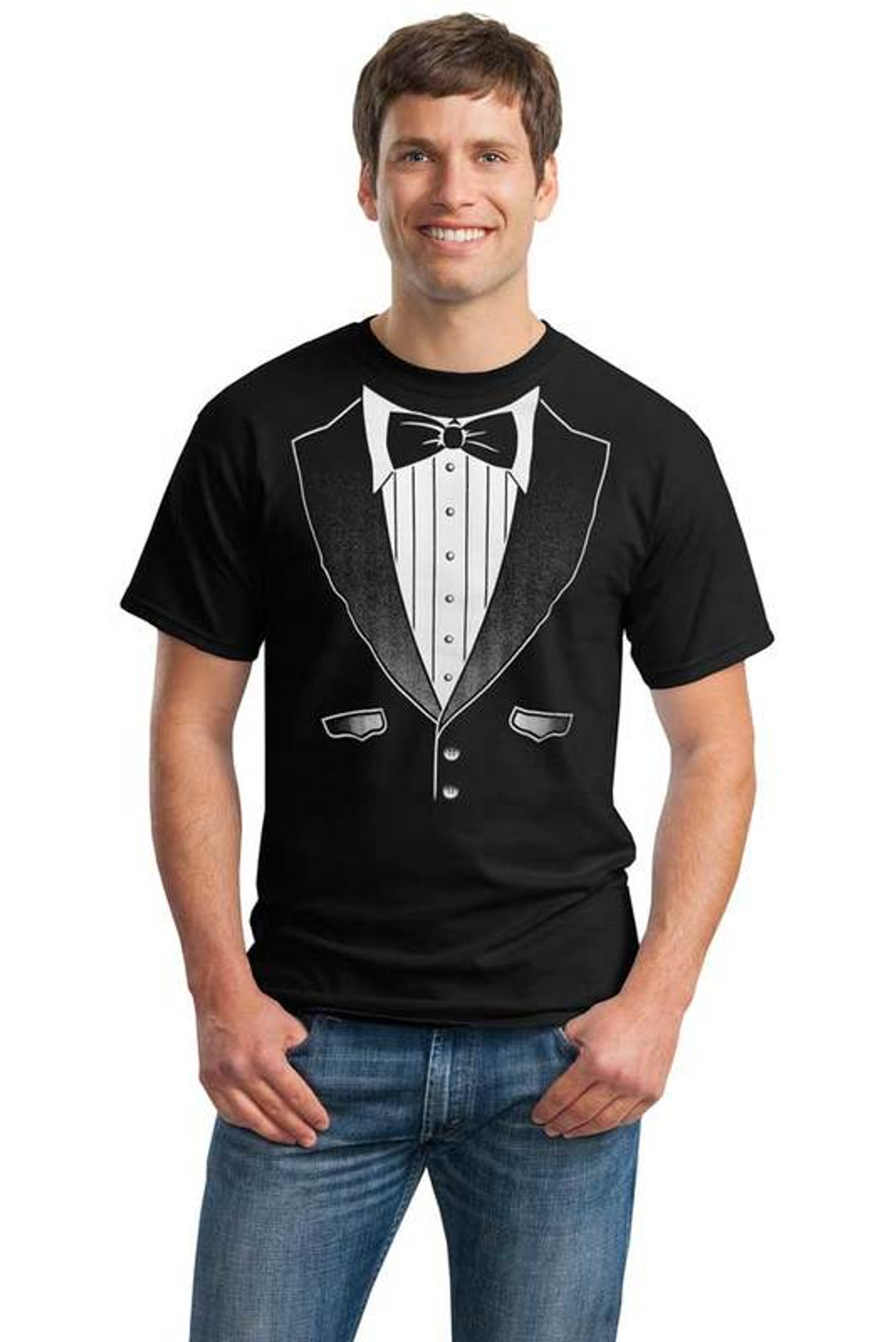 The Original Tuxedo T-Shirt is Never Out of Style