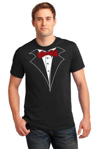 Tuxedo T Shirts In Black Men Woman Kids Big And Tall