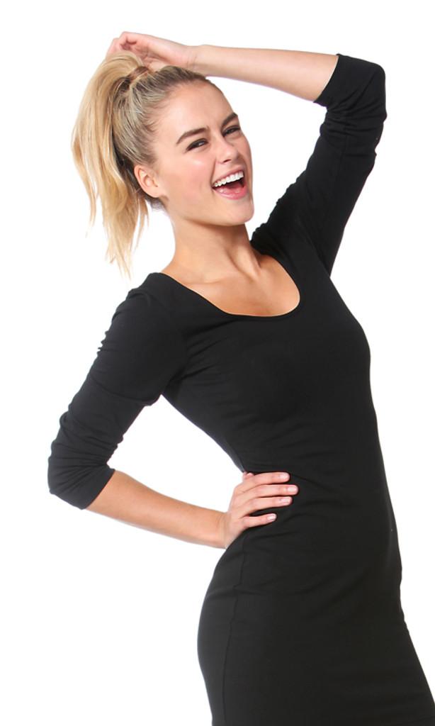 Ladies Dresses   Cindy Scoop Dress   Betty Basics