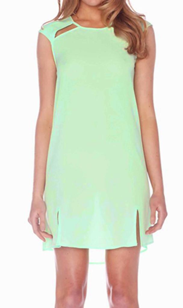 Ladies Dresses in Australia | Leopard Marble Cut Out Dress | HONEY & BEAU