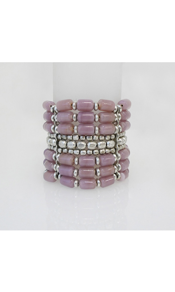 Women's Accessories | FB2578- Pink Beaded Bracelet | FAB