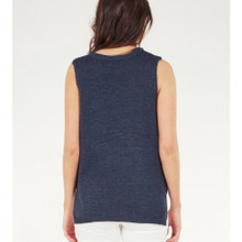 Women's Tops Australia | Ayla Knit Top in Denim Blue | AMELIUS