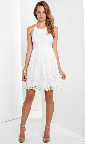 Posy Embroidered Dress by Ministry of Style by BEBE
