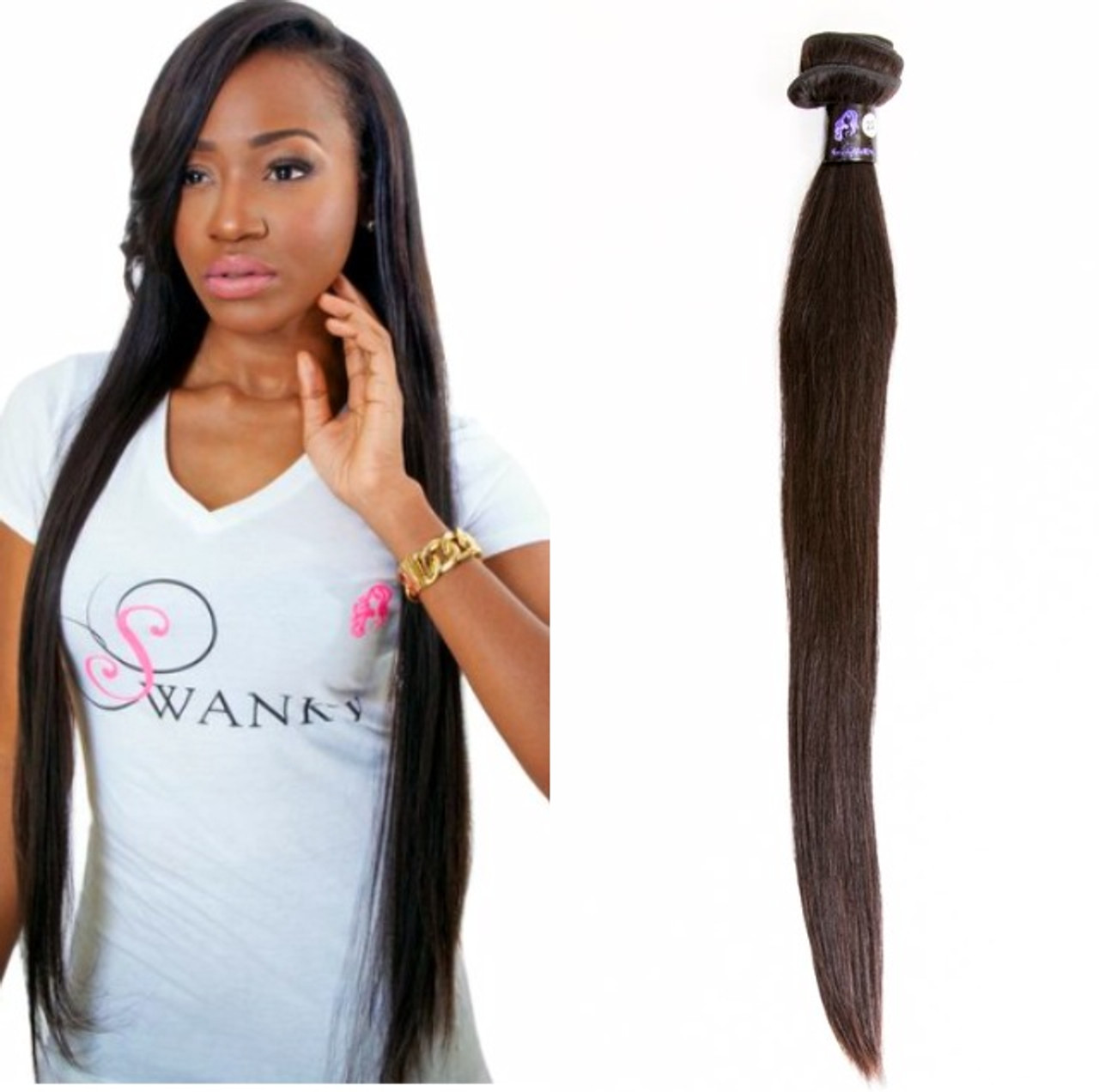 Peruvian Straight Single Bundle Swanky Boutique