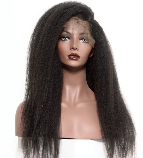 Virgin Mongolian straight Hair is genuine unprocessed virgin human hair that is tighter and kinkier than all of our other straight textures. our Hair is a perfect match to a healthy blow out. This hair blends flawlessly to African American Hair texture. Hair can be worn bone straight when straightened with a high heat ceramic flat iron. This is the best hair for women of color who are natural or transitioning. With proper care and maintenance, Mongolian hair will maintain its fullness with no shedding, matting or tangle. Like all of our virgin hair, this gorgeous hair has not been mixed with synthetic hair fibers or hair from different origins.
