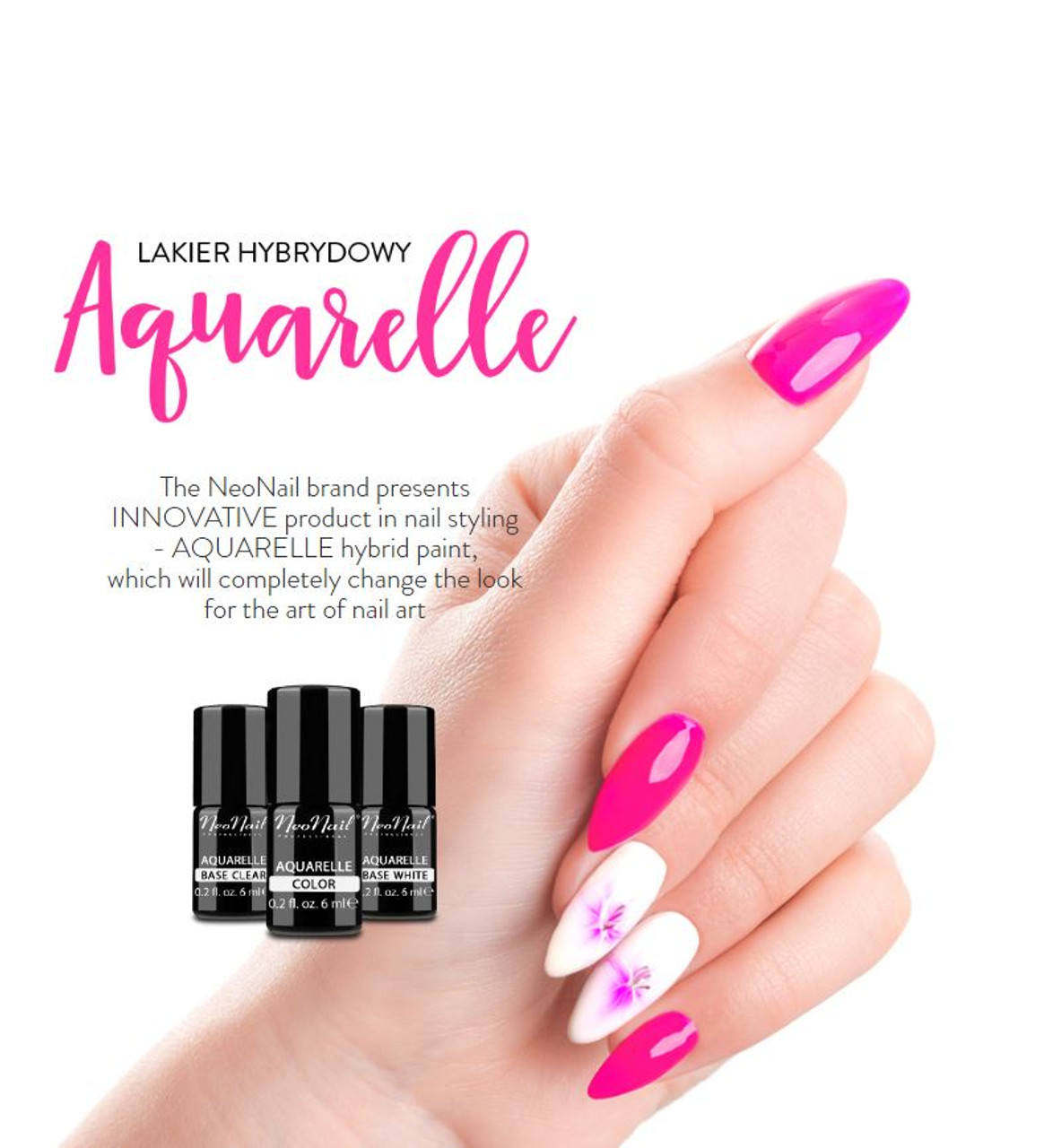 Hybrid Nail Polish 6 ml - Aquarelle Collection - Fashion Mouse