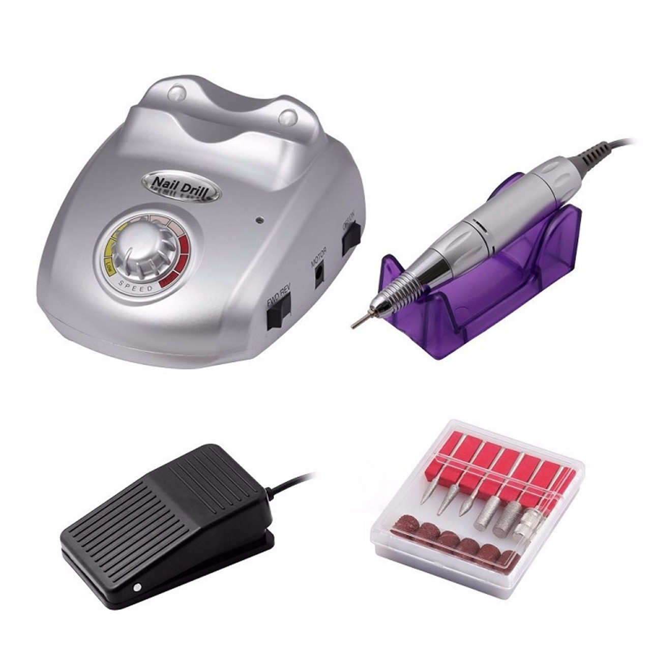 Professional Electric Nail Art Drill Machine 35,000 RPM - Fashion Mouse