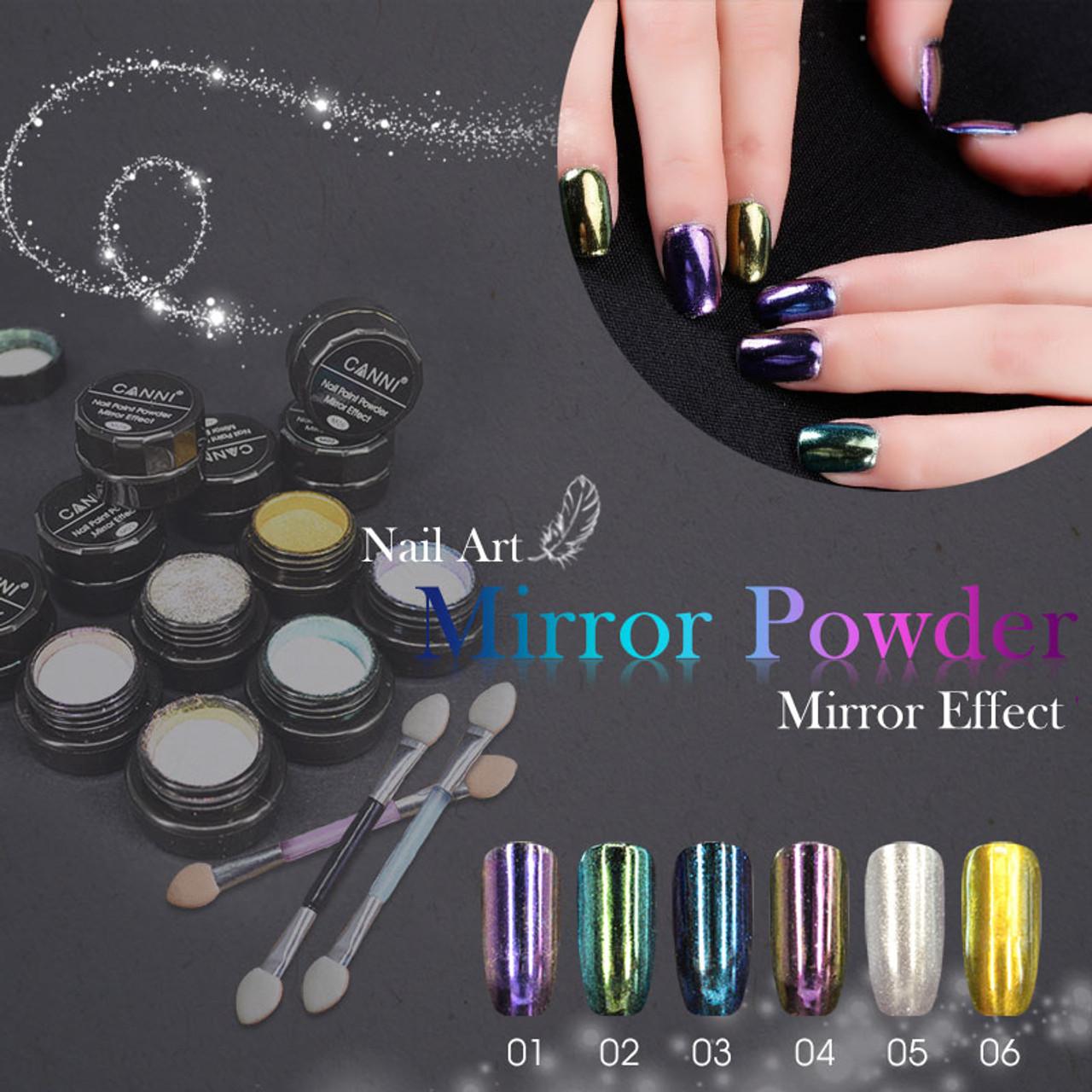 Metallic Mirror Effect Powder 2g - Fashion Mouse