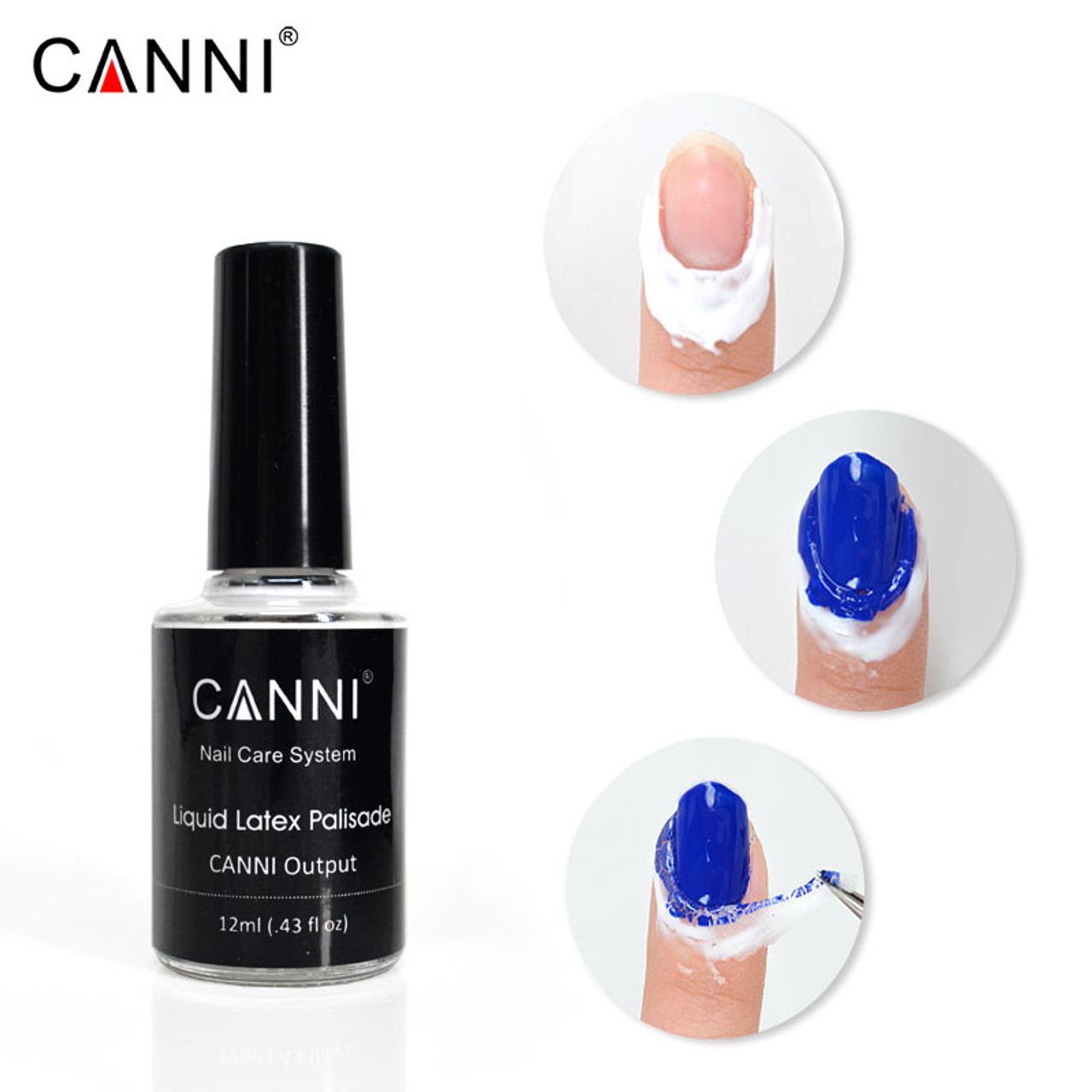Peel Off Finger Protected Liquid Palisade 12 ml - Fashion Mouse