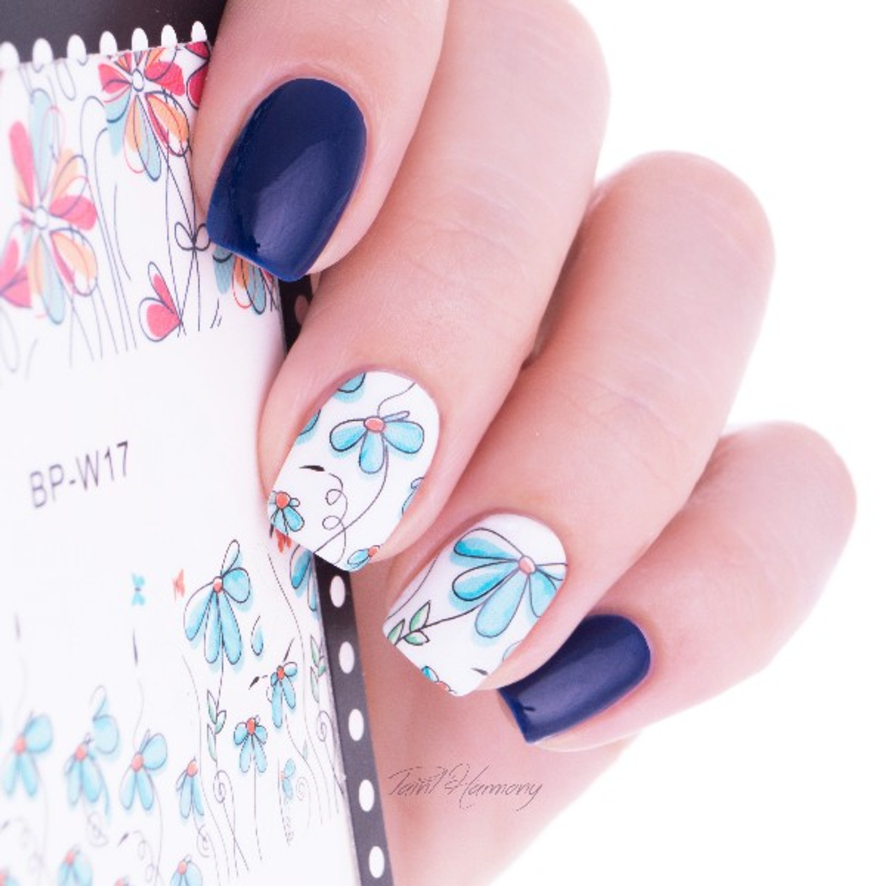 Cute Flower Nail Art Decal Stickers - Fashion Mouse