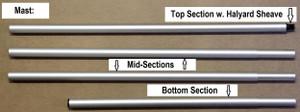 BSD Sectional Mast