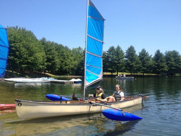 BSD Canoe Rudder