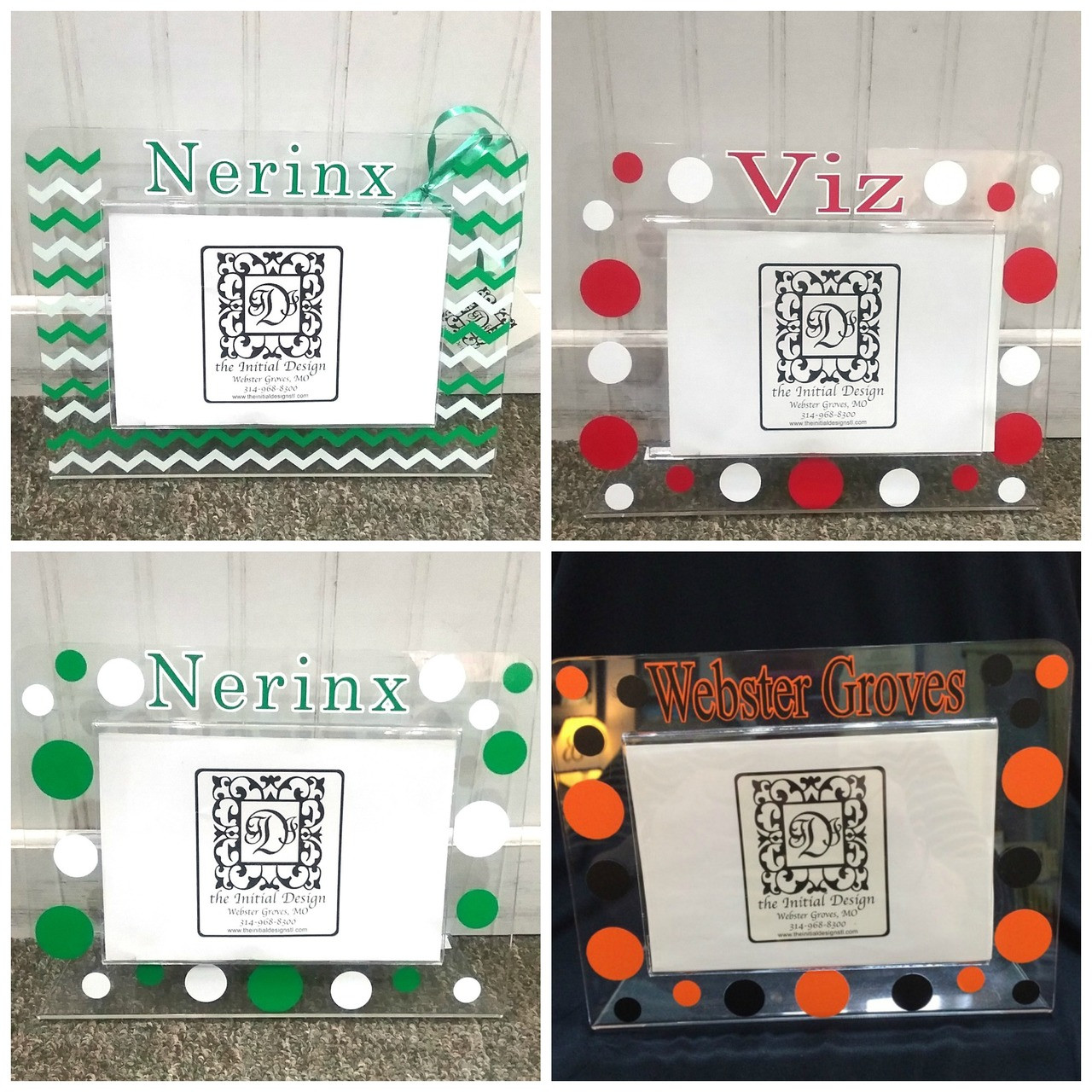 Pick Your School Custom Acrylic Frame