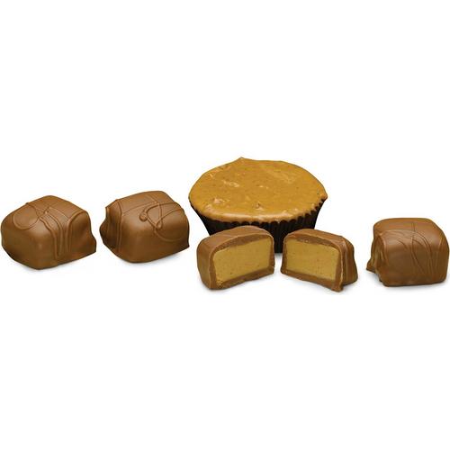 Peanut Butter Meltaway Truffles, Milk Chocolate