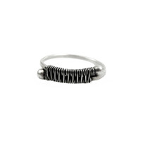Sterling Woven Together Ring