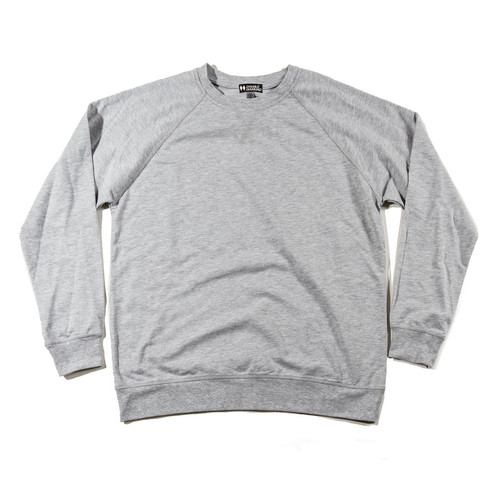 Men's French Terry Long Sleeve Pullover