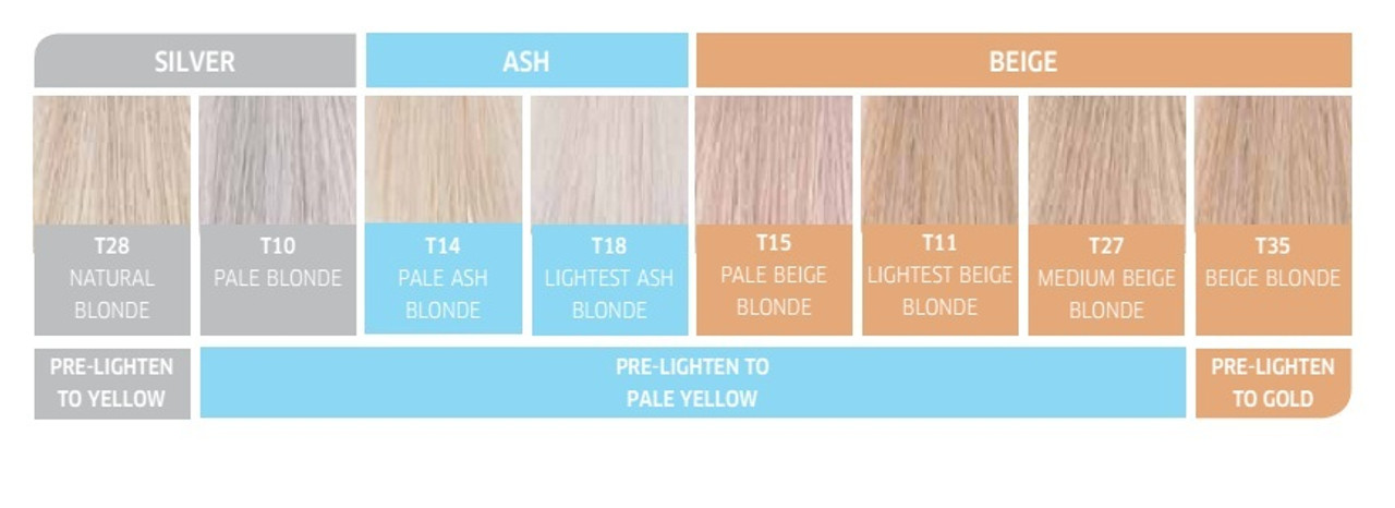 Color Charm Toner T Natural Blonde